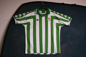 Real Betis 2000 2001 home large football shirt jersey top