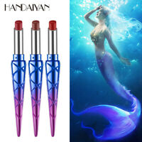 Red Matte Nude Waterproof Cosmetics Tint Mermaid Lips Lipstick Makeup Lip Liner