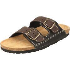 Cloxx Herren Schuhe T69913.20 Pantoletten Pantoffeln 2er Riemen Hausschuhe Brown