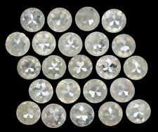 Natural Loose Diamond Grey Color Round Rose Cut I3 Clarity 23 Pcs 2.56 Ct L5127