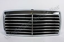 Front Grill Center Grille Chrome MERCEDES W124 Coupe 85-93