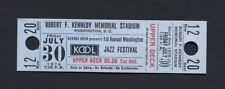 1976 Washington Jazz Festival Marvin Gaye Smokey Robinson Spinners Byrd Staple