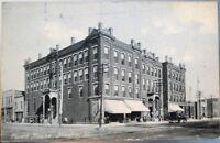 Streator, IL 1908 Rotograph Postcard: Plumb House - Illinois Ill