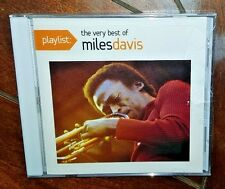 Playlist: The Very Best of Miles Davis (CD, Feb-2011, Sony Music) Free Shipping!