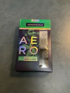 Aeropostale Men's Small Four Pack Multicolored Contour Fit Mens A-Shirt NWT