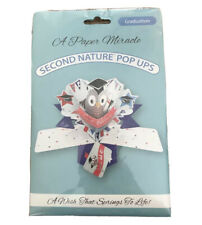 A Paper Miracle - Pop Up Greeting Card ~GRADUATION~ Second Nature Pop Ups