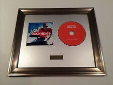PERSONALLY SIGNED/AUTOGRAPHED EXAMPLE - LIVE LIFE LIVING CD FRAMED PRESENTATION