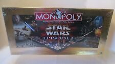 SEALED STAR WARS MONOPOLY EPISODE 1 COLLECTOR EDITION 3-D GAMEBOARD HASBRO
