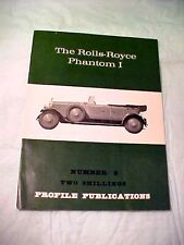 Rolls Royce Phantom I BOOKLET MAGAZINE #2 1966 WALTER WRIGHT PROFILE PUBLICATION