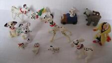 Lot Disney 101 Dalmations McDonalds Toy Dog Figure Cake Topper Cruella Doll