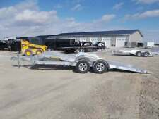 2021 Aluma 8218 Tilt 18' Aluminum Tiltbed Car Hauler Trailer