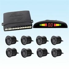 Car Reverse Rear Parking Sensors Backup Radar 8 Sensors Kits Sound Alert