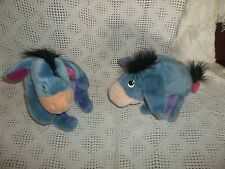 "Talking Ask Me More EEYORE & EEYORE DISNEY STORE 12"" Plush- CUTE!!- Box C"