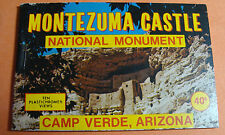 Souvenir  Montezuma Castle National Monument 10 views Camp Verde, Arizona