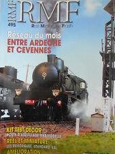 RMF - Rail Miniature Flash n°495 - Réseau Entre Ardeche et Cevennes [TR.31]