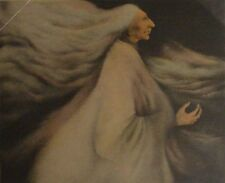 """Frank Howell Howell """"Wind Woman"""" Hand Signed & Numbered Lithograph, Make Offer"""