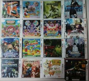 3Ds Games BRAND NEW Nintendo 3Ds AUTHENTIC Factory Sealed
