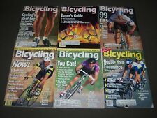 1990 BICYCLING MAGAZINE LOT OF 10 - CYCLE - GREAT COVERS & PHOTOS - PB 190W