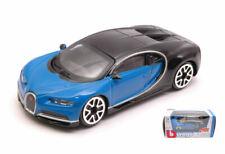 Bugatti Chiron 2016 Blue / Black 1:43 Model 30348 BBURAGO