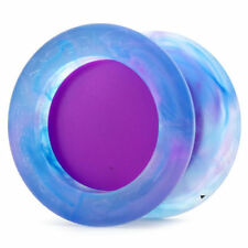 Replay Pro Galaxy Blue Marble and Purple Yo Yo YOYOFactory +3 Strings YEL/ORG/GR