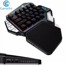 Gamesir Z1 Gaming Keypad Bluetooth Wired USB Keyboard For PC Android Red Switch