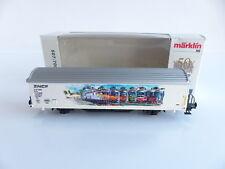 MARKLIN 50 ANS 507/700 WAGON PUBLICITAIRE CFL TYPE Hbis LOGO SNCF