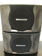 Martin Ranger KTV-600Professional 500w Karaoke Vocal Speakers Audio Music (pair)