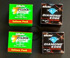 200 mix INDIAN Double Edge Safety DE Razor Blades sample pack Rasierklingen