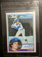 1983 TOPPS #83 RYNE SANDBERG ROOKIE CARD RC CHICAGO CUBS HOF