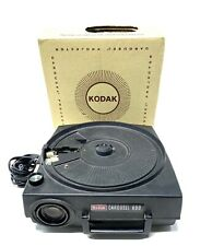 Vintage Kodak Carousel 600 Slide Projector IN ORIGINAL BOX Needs Bulb FAST SHIP