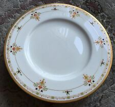 Rare Antique (1914) Gold Gilded Royal Worcester English Bone China 10 Inch Plate
