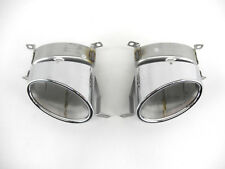 Orig. Exhaust outlet pipe left + right Audi Q7 4L W12 V12 4L0253684A 4L0253683A