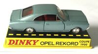 1/43 ATLAS DINKY TOYS 1405 OPEL REKORO COUPE 1900 DIECAST CAR MODEL PAINT ISSUE