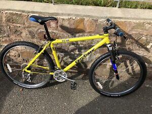 Rare Vintage 1998 Gary Fisher Big Sur Mountain bike Yellow Incredible Condition!