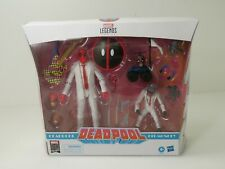New Listing030-Marvel Legends 80th Anniversary Deadpool And Hit-Monkey Exclusive Figurines
