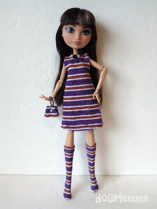 EVER AFTER HIGH Doll Clothes Dress, Boots, Purse & Jewelry FASHION NO DOLL d4e