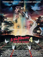 1988 A Nightmare on Elm Street 4 Movie High Quality Metal Fridge Magnet 3x4 9750