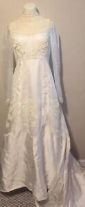 Vintage William Cahill Ivory Wedding Dress