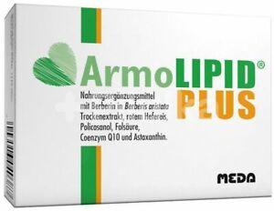 ARMOLIPID Plus  Control Cholesterol Level 30,60,90,120,150,180 caps size