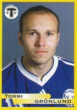 175 tommi Gronlund # Finland trelleborgs ff. sticker fotboll allsvenskan 1999