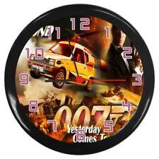 Quartz (Battery Powered) Cars Plastic Wall Clocks