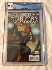 Annihilation Conquest Starlord #1 CGC 9.8 WP Marvel 2007 Guardians of the Galaxy