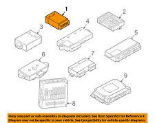 BMW OEM 06-07 M6 Electrical-Control Module 61359266274
