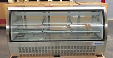 "DELI CASE NEW 82"" GLASS SHOW CASE REFRIGERATOR COOLER DISPLAY Bakery Pastry 72"""