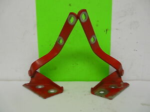 VW Golf 3 III Vento Hood Hinges Left+Right Red LP3G Flash Red