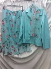 PRIDE & JOY 3 PC DRESS SIZE 18, BLUE, PINK & GREEN, USED GOOD CONDITION