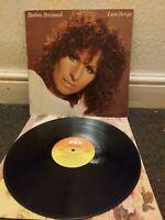 BARBRA STREISAND Love Songs Vinyl L.P **UK 1981 w/Insert** CBS 10031