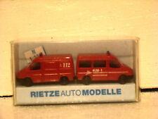 Rietze Ford Transit van & minibus Feuerwehr Fire 112