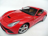 1:18 Mattel Hot Wheels Ferrari F12 Berlinetta Rosso #BCJ72