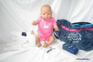 RealCare Baby Think It Over Doll G6 White Caucasian Girl Female + Programmer